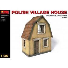 MiniArt 35517 Polish Village House 1/35 scale plastic model kit