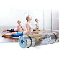 Aluminum Film Moisture-proof Yoga Mat Workout Exercise Gym Fitness Pilates Pad