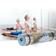 Aluminum Film Moisture-proof Yoga Mat Workout Exercise Gym Fitness Pilates PadCA
