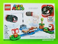 LEGO Super Mario Boomer Bill Barrage Expansion Set 132 pieces - NEW 71366
