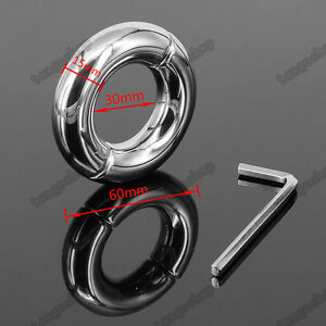 Quality Stainless Steel Metal testicle Ball Stretchers Ball Weights 200g