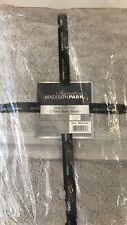 Madison Park Signature 800GSM 100% Cotton Bath Sheet 2 Piece Set SILVER