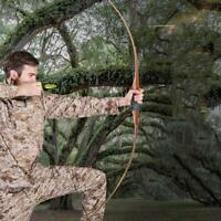 IRQ Archery Targeting Traditional Wooden Longbow Hunting Practice RH Recurve Bow