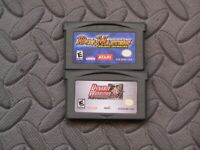 Lot Nintendo Game Boy Advance GBA Games Duel Masters: Kaijudo Showdown + Dynasty