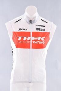 Santini Trek Factory Racing Skin Light Windvest Men's Medium Rockshox Sram