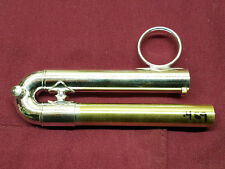 Bach Strad. C Trumpet .459 ML Bore SilverPlated 3rd Slide