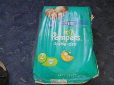 ganz alte Pampers Baby  dry Gr. 2 - 44 Stück von 2014   Neu