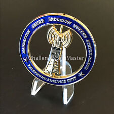 B67 NYPD DETECTIVE BUREAU TELEPHONE ANALYSIS UNIT CHALLENGE COIN SPINNER
