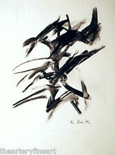 ELAINE de KOONING 'On the Way / San Remo' Ltd Ed Print In Memory of My Feelings