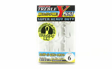 Decoy Y-S81 Treble Hook Heavy Duty Treble Hooks Size 6 (9517)