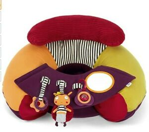 Mamas & Papas Sit and Play Infant Inflatable Floor Seat with Play Tray & Box