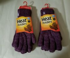 HEAT HOLDERS THERMAL GLOVES LADIES TOG 2.3 L/XL NEW SET OF TWO