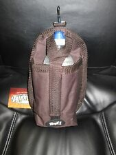 """Tough-1 Snap On Water Bottle Carrier - BROWN - 6.5"""" x 11""""-- NEW"""