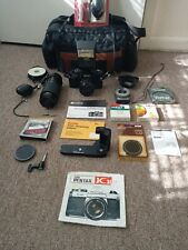 Ricoh Xr-10 35mm Film Camera + Zoom Lens & Case & Flash and Accessories.
