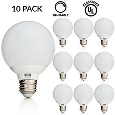 Sunco 10 PACK 6W G25 LED Globe Light Bulb Daylight 5000K Medium E26 Base