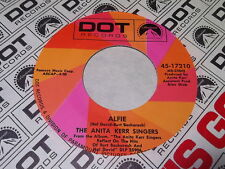 The Anita Kerr Singers: Alfie / A House Is Not A Home 45