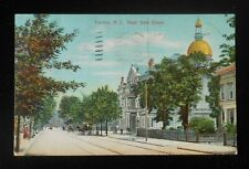 1907 West State Street Horse Delivery Wagon Trenton Nj Mercer Co Postcard