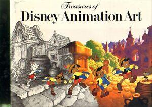 Treasures of Disney Animation Art Abrams John Canemaker Hard Cover Book