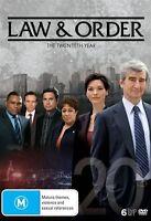 Law And Order : Season 20 (DVD, 2017, 6-Disc Set) - Region 4