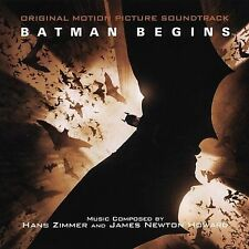 BATMAN BEGINS--CD--New, Sealed--Hanz Zimmer, James Newton Howard