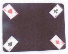 MAGICIANS CLOSE UP MAT 4 Aces – Black HK 12.5 x 16.5