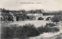 01 - cpa - NEUVILLE sur Ain - Le pont  (D3933)