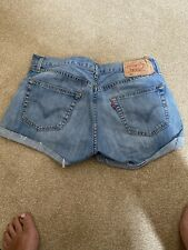 ladies levis 501 Shorts