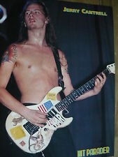 ALICE IN CHAINS (JERRY CANTRELL) - CUTTING (FULL PAGE PHOTO) (REF XE)