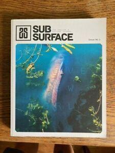 Subsurface Journal 1 carp fishing book Gareth Fareham no barbel perch chub