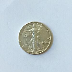 1947 D Liberty Walking Silver Half Dollar