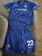 Christian Pulisic Chelsea Football Club Home Jersey &Short set Size Adult Xlarge