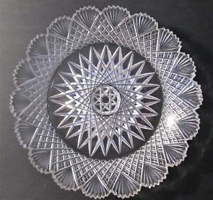 Antique Cut Crystal Glass Dish from the estate of Emmet Fox