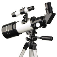 SVBONY 70mm Refractive Terrestrial Astronomical Telescope (300mm)+Tripod For Kid