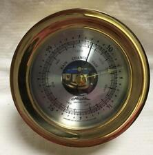 Airguide Barometer, Brass