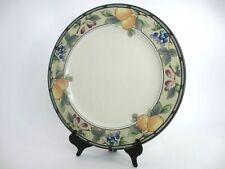 Set of 4 Mikasa Intaglio, CAC29, Garden Harvest Dinner Plates