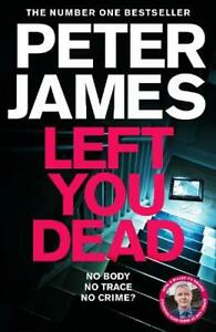 Left You Dead - Roy Grace (Paperback) by Peter James NEW Paperback