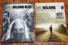 AMC The Walking Dead The Complete First & Second Seasons DVDs *14-1/2 Hours!*