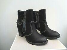 BNIB Tamaris block heel ankle boots size  UK 3.5 EUR 36