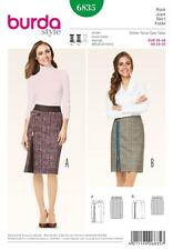 BURDA Gabarits de couture FEMMES Smart, décontracté jupes, fermetures éclair