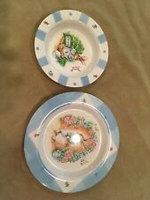 Pfaltzgraff Peter Rabbit Baby Dish And Plate Set Plastic