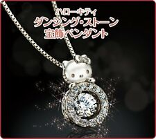 Hello Kitty Dancing Stone jewelry pendant made in Japan