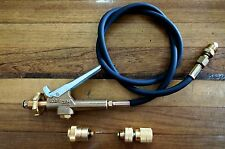 LPG Gas Bottle Filler Gun & Hose Kit - Comes with Primus and Companion Adapters