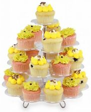 Deluxe Cupcake Stand Total Vision VT-00766 Party Birthday Hold 24 Cupcakes New