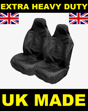 FORD FIESTA ST SPORTS BUCKET CAR SEAT COVERS PROTECTORS X2 / EXTRA HEAVY DUTY
