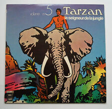 Tarzan LP Hörspiel Le seigneur de la jungle TARZAN 1971/72 Vol. 5 Hogarth Cover