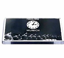 United Munich 1958 Clock team line up magnet football gifts