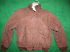 Men's Mirage leather bomber jacket size L-XL
