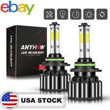 9005 HB3 LED Headlights Bulbs 72W 10800LM Kit High/Low Beam  6000K White AC/72