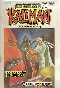 Kalicolor #64 - Enero 3, 1989 -  Mexico