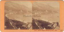 Monaco Photo J. Andrieu Stereo Vintage Albumine ca 1865